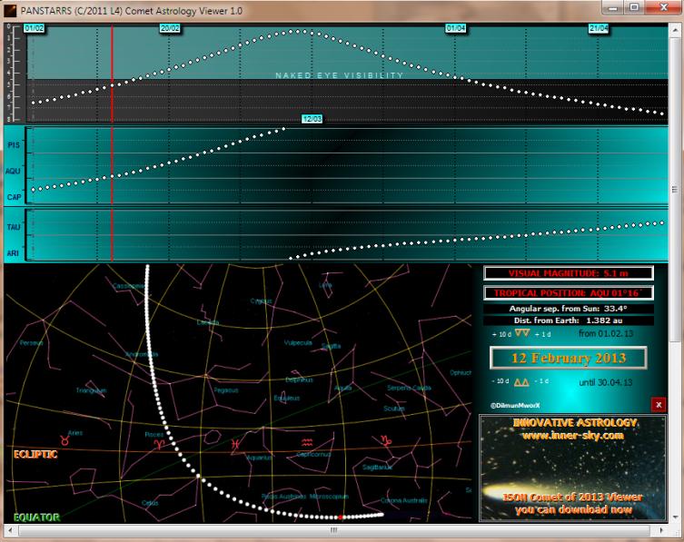 PANSTARRS C/2011 L4 Comet Viewer 1.0 full