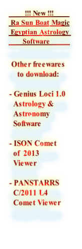 Ra Sun Boat Magic Astrology Software